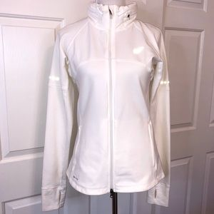 Nike White Dri-Fit Jacket